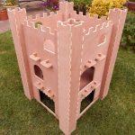 Rabbit Castle 2 Storey - 2 Storey Rabbit Castle