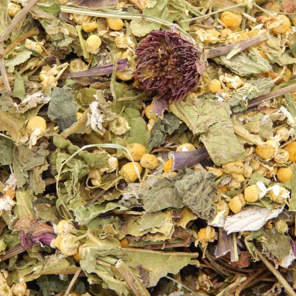 Chamomile Flowers, Echinacea & Mixed Leaves - 100g