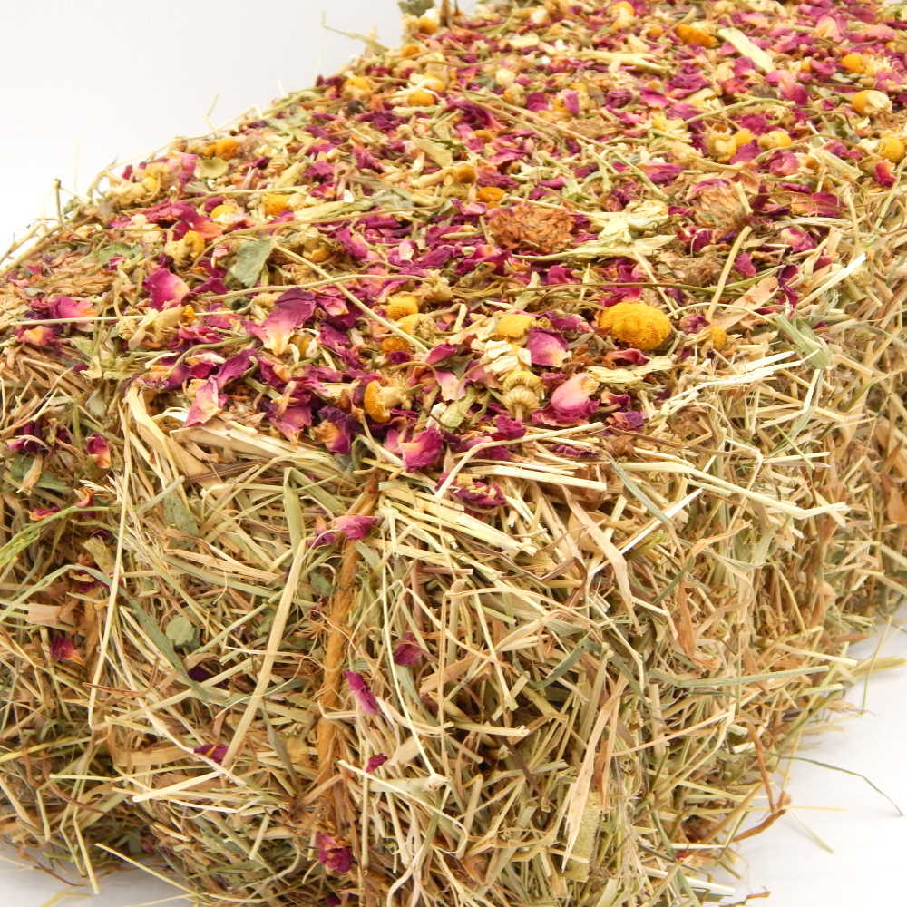 Baby Bale - Red Clover, Rose Petals & Chamomile